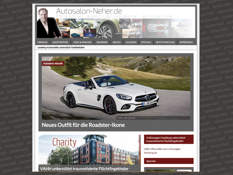 Website Autosalon Neher