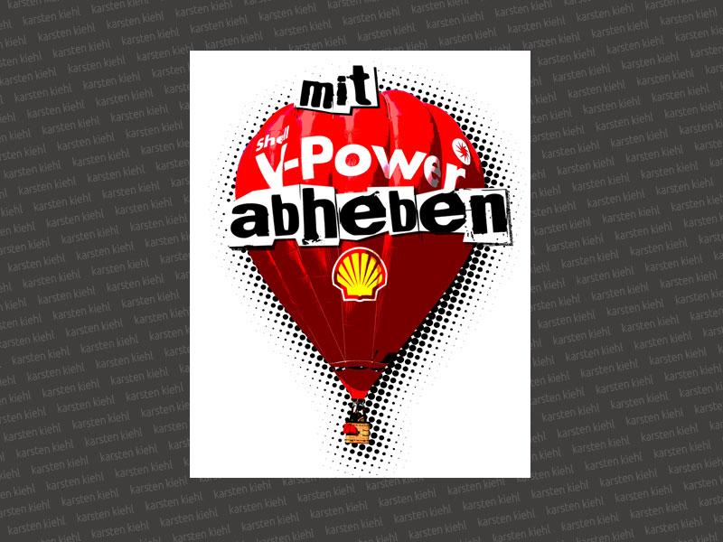 Logo V-Power Magazin-Special, Entwurf