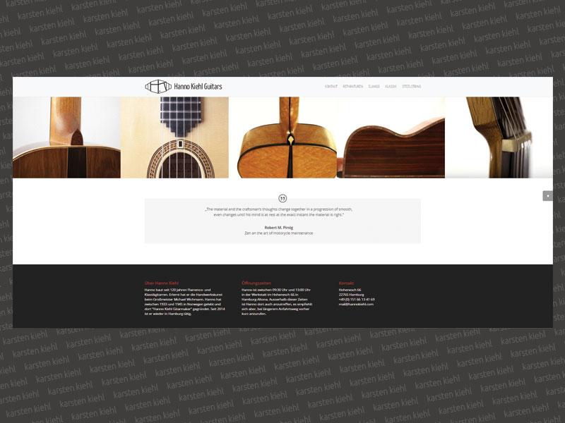 Website Hanno Kiehl