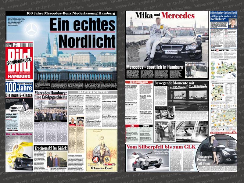 Sonderausgabe 100 Jahre Mercedes Hamburg