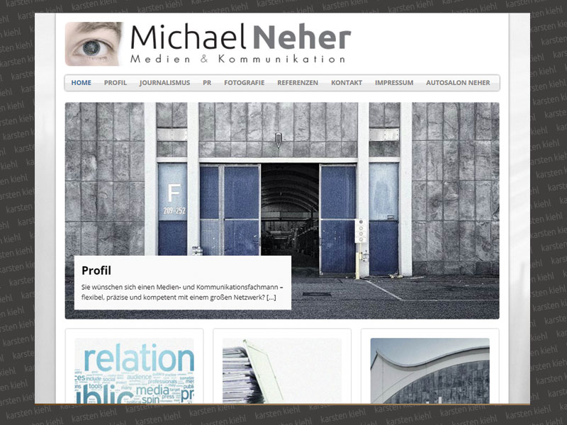 Website Michael Neher