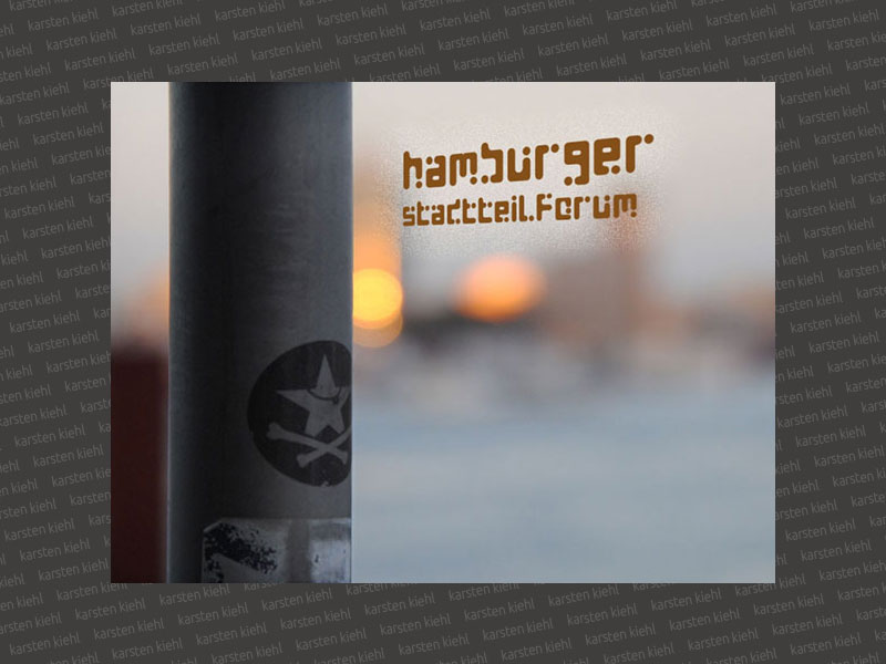 Landing Page Hamburger Stadtteilforum